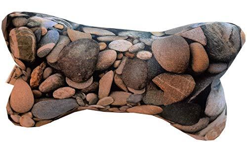 Leseknochen Steine, Nackenkissen ca. 35 cm
