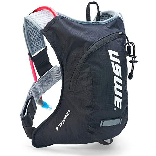 USWE Vertical 4 Hydration Pack (Carbon Black)