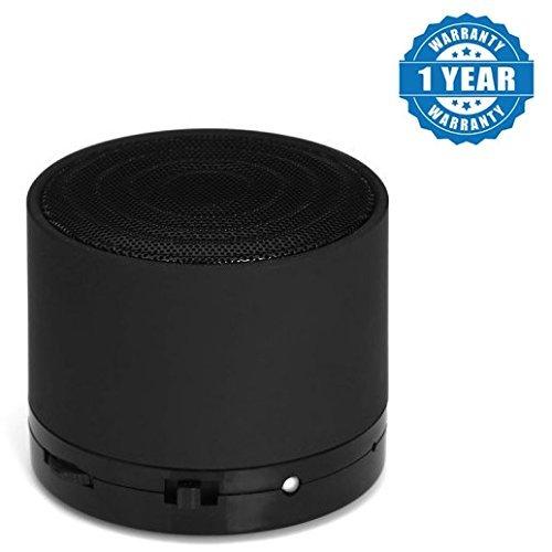 JIKRA Bluetooth Mini S10 LED Light Enabled Speaker with TF Micro SD...