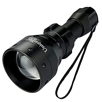 UniqueFire 1503 IR 850nm LED Infrared Light Illuminator Flashlight for Night Vision Scopes丨T50 Adjustable Focus Torch丨5 Watt Lamp丨3 Modes with Memory Function
