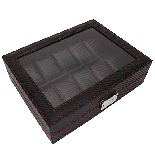 Watch Case Organizer 10 Für Aufbewahren & Ordnen Organizer Uhr Aufbewahrungsbox Slot Uhr Aufbewahrungsbox K?Rbe & Beh?Lter