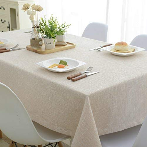Mrs Sleep Cotton Linen Tableclot...