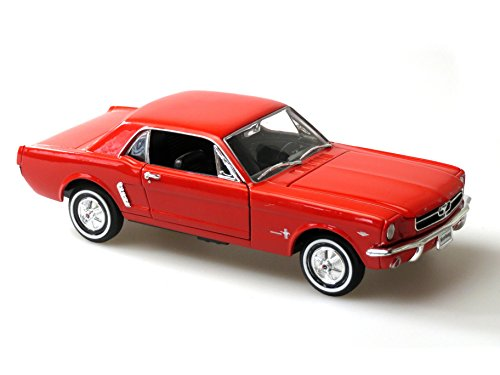 Ford Mustang 1964 Rot Red 1/2 Coupe 1/24 Welly Modellauto Modell Auto