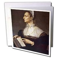 BLN絵画の王、ロイヤリティ–Queensとローラ・Battiferri C。1560by Agnolo Bronzino–グリーティングカード Set of 12 Greeting Cards
