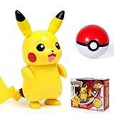 rgbh Pokemon Toy Pikachu Figuras De Acción Charizard Gyarados Modelo De Dibujos Animados Figura Collectible Juguete Lujo Deformación Set A