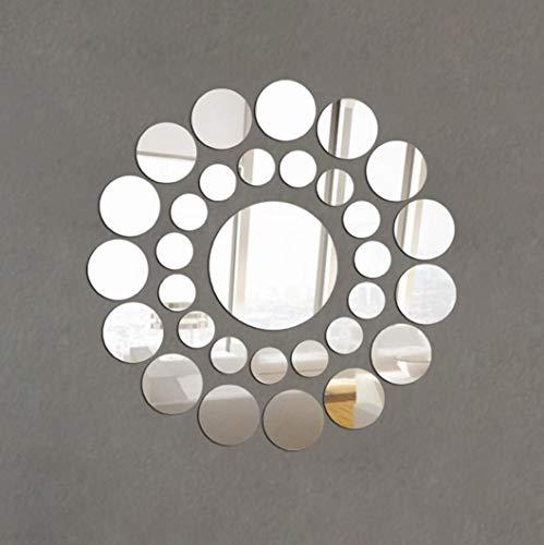 Depory wandaufkleber wandtattoos Ronamick 31X Runde Spiegel Wandaufkleber Acryl Oberfläche...