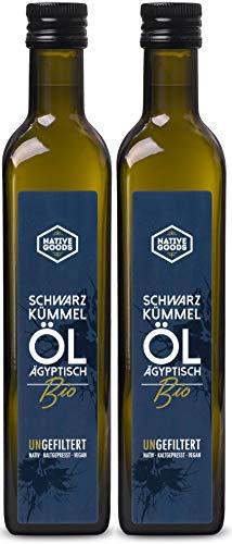 Schwarzkümmelöl BIO | UNGEFILTERT - ägyptisch - kaltgepresst - nativ | native goods - 1000ml