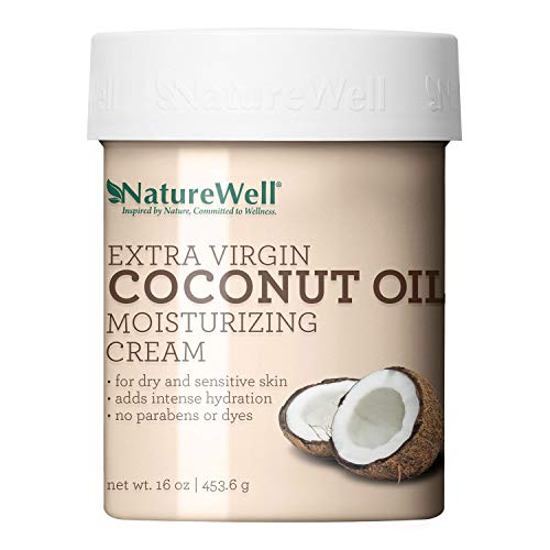 Naturewell Extra Virgin Coconut Oil Moisturizing Cream 16 oz