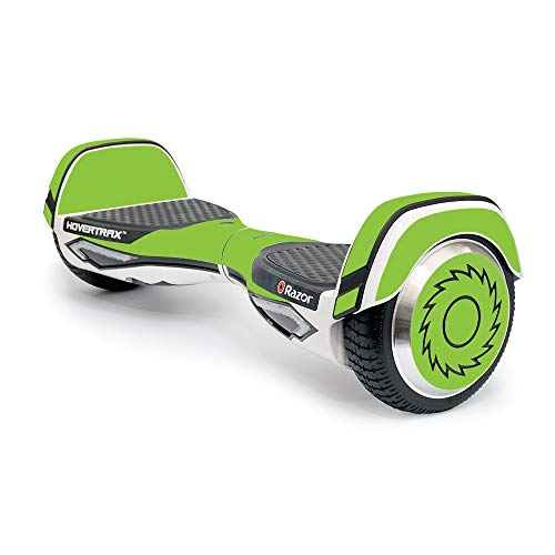 MightySkins Skin Compatible with Razor Hovertrax 2.0 Hover Board - Solid Lime Green   Protective, Durable, and Unique Vinyl wrap Cover   Easy to Apply, Remove, and Change Styles   Made in The USA