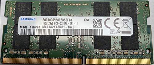 16GB DDR4 3200MHz PC4-25600 1.2V 2Rx8 260-Pin SODIMM Laptop RAM Memory Module M471A2K43DB1-CWE