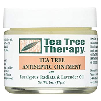 2 Pack of Tea Tree Therapy Antiseptic Ointment Eucalyptus Australiana and Lavender Oil - 2 oz