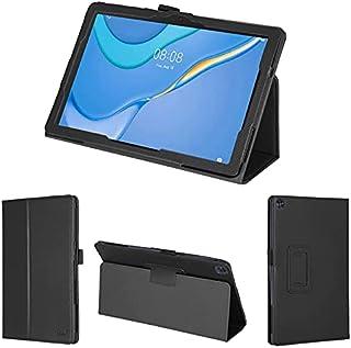 wisers 保護フィルム・タッチペン付 MatePad T10 AGR-W09 9.7 インチ Huawei ファーウェイ タブレット ケース カバー [2021 年 新型] ブラック