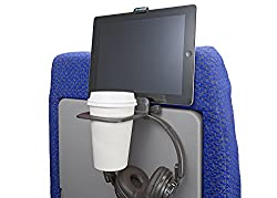 Air Travel Cup and Electronics Device Holder