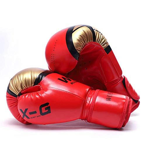 Kinder Boxhandschuhe schützen Handgelenk verdicken Fitness Girl Martial Arts Muay Thai Schutzhülle Frau Männer Finger Professional Training Verschiedene Spezifikationen, Schwarz, 6 Unzen boxhandschuhe
