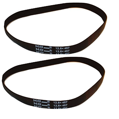 Hoover Belt, T Series Type 65 Wind Tunnel Cloth Uh70205/10 (2 Belts)