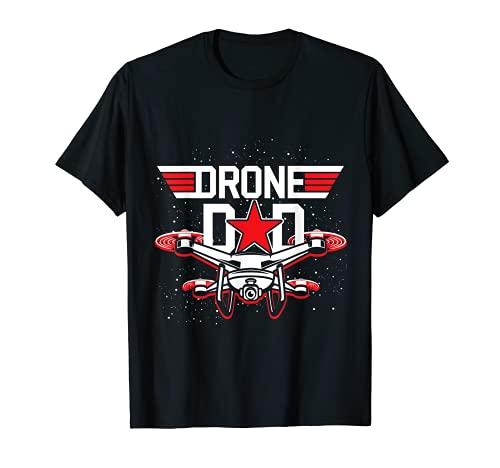 Dron Dron Día del Padre Regalo Dron Camiseta