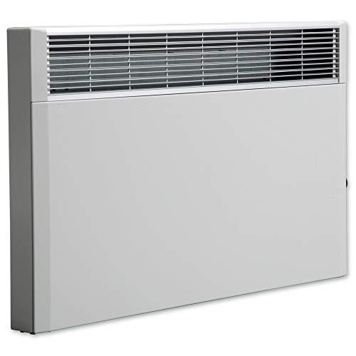 Elektroheizung, Heizkörper, Speicherheizung/Schamottespeicher mit integrierten Thermostat und Wandhalterung - 2000 Watt - Maße: (BxHxT): 69,5cm x 44,5cm x 8,5cm