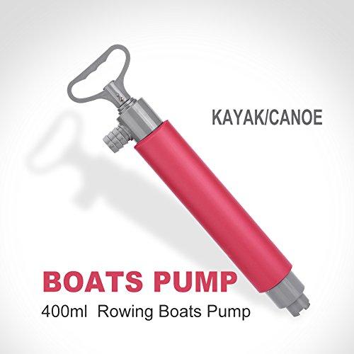 SOONHUA Kajak-Pumpe, 46 cm Wasser-Kajak-Handpumpe, Kajak-Pumpe, Notfall-Rettung, Outdoor-Überlebenswerkzeug