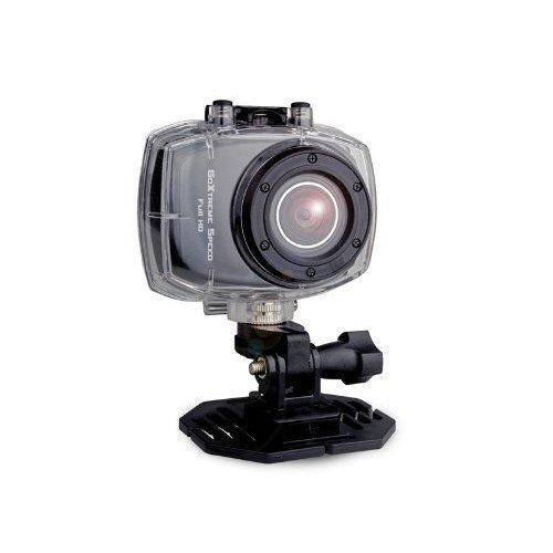 Easypix GoXtreme Speed Full HD Action Cam black Kamera (5 Megapixel, 4-fach dig. Zoom, 6 cm (2,4 Zoll) Touchscreen, USB 2.0, 3 m wasserfest) schwarz