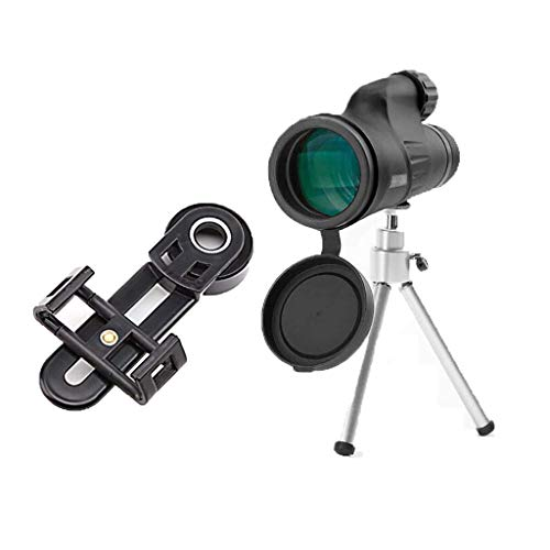 DRGRG Telescopio Zoom Alcance De Detección De Alta Definición Telescopios Monoculares Telescopio De Detección El Zoom Telescópico Se Puede Conectar A Un Teléfono Móvil Imágenes De Alta Defin