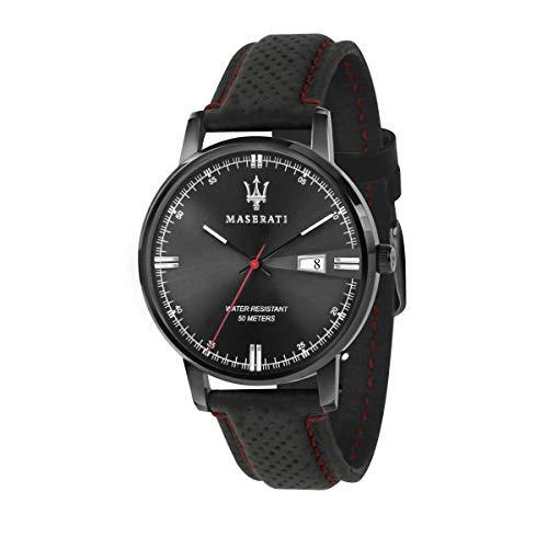 Orologio da uomo, Collezione Eleganza Maserati, movimento al quarzo, tempo...