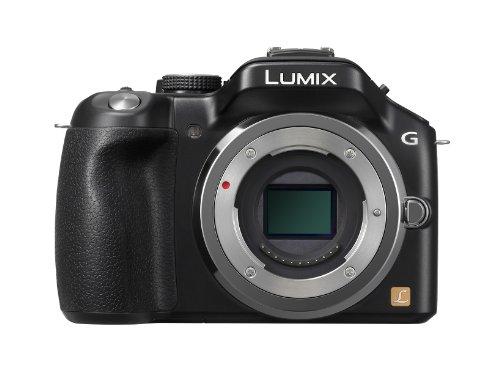 Panasonic Lumix DMC-G5EG-K Systemkamera Gehäuse (16 Megapixel, 7,6 cm (3 Zoll) Touchscreen, Full-HD Video, bildstabilisiert) schwarz