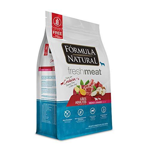 Ração Seca Fórmula Natural Fresh Meat Cordeiro para Cães Adultos Raças Médias e Grandes 2,5 kg