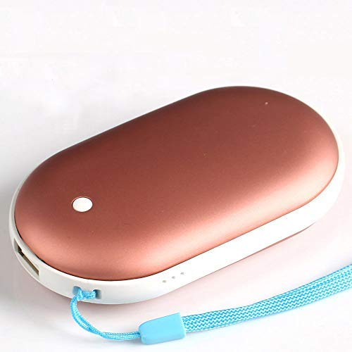 KEROLFFU Rechargeable Hand Warmer 5200mAH Electronic Portable Heating USB Backup Power Back Battery for Samsung iPhone