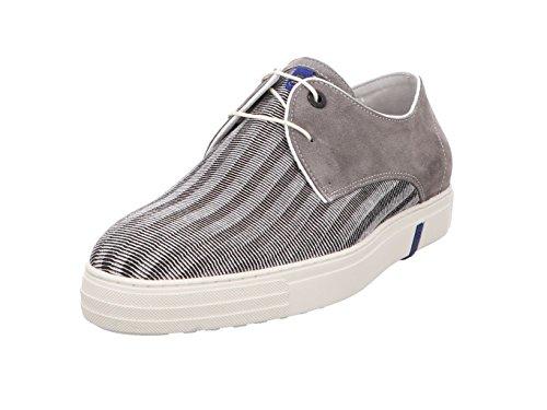 Floris van Bommel heren Sneaker 14089/00 grijs 421735