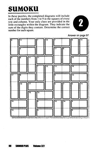 Sudoku Plus Puzzle Book-Volume 336