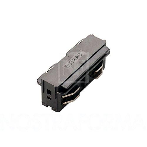EUTRAC Längsverbinder elektrisch für 3-Phasen HV-Schiene schwarz