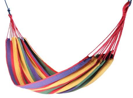 Guru-Shop Hamaca de Exterior, 200x150 cm, 1-2 Personas, Multicolor, Hamacas, Columpios