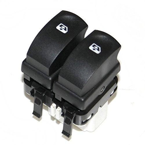 Autohobby 0130 Interruptor de elevalunas eléctrico delantero para Espace 4 IV Scénic 2 II 2002-2018 OEM 8200315042