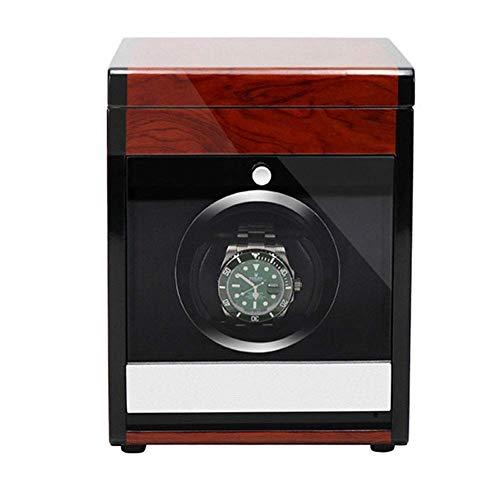 ZHANGYH Vibrador de Reloj mecánico Enrollador de Reloj único para Caja de Reloj mecánico automático con Pantalla táctil LCD Inteligente y Motor silencioso, Caja de almac