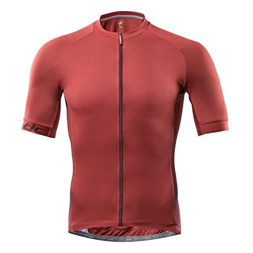 Santic Cycling Jerseys for Men Short Sleeve Cycling Tops Mens Biking Jersey Cycling Shirts Breathable Yorkson