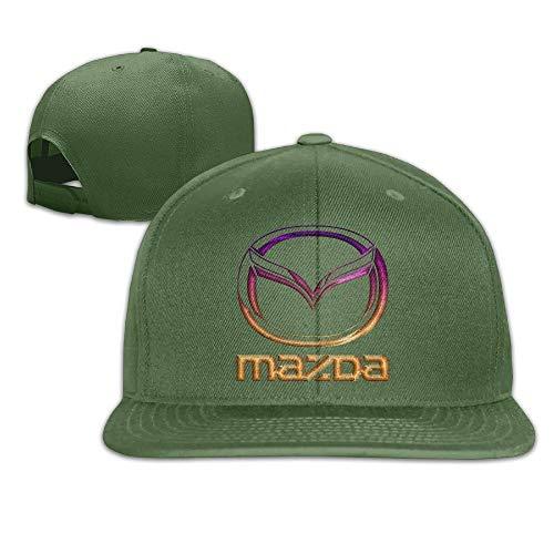 Youaini Adjustable Snapback Baseball Hat&Cap Mazda ForestGreen