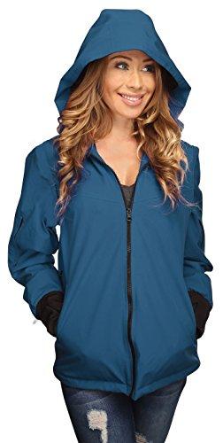 Joey Travel Jacket with Hidden Pockets. (XXX-Large, Blue)