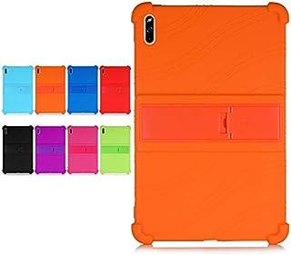 Beststartjp HUAWEI MatePad 10.4インチ(BAH3-W09、BAH3-L09)スタンド機能付き スタンド調整可能 衝撃吸収 傷つけ防止 全面保護型 シリコン 保護フィルム付き 色選択可能