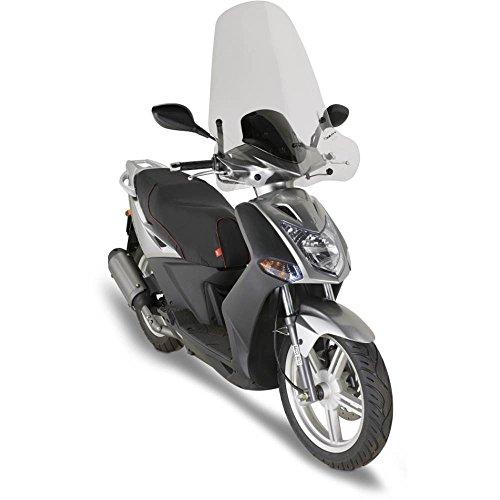 GIVI - 441A - Parabrisas transparente para moto Kymco, 72 x 66 cm