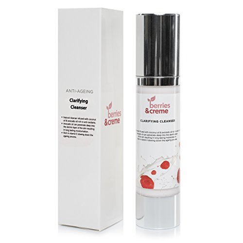 Berries and Crème ORGANIC NATURAL Clarifying Cleanser and ANTI ACNE face wash...