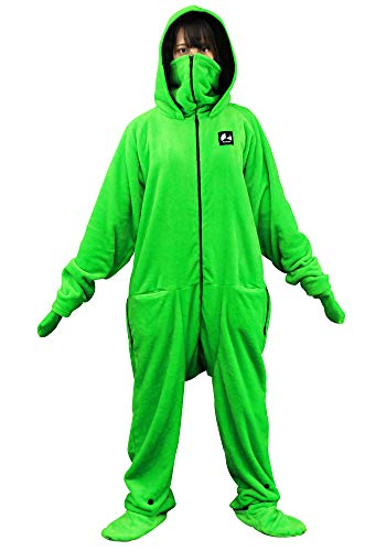 Bauhutte(バウヒュッテ) 着る毛布 ダメ着2020 グリーン Lサイズ HFD-BS-L-GR
