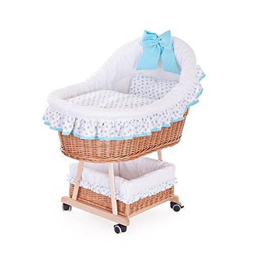 Cochecito de mimbre, Cochecito con un bebé halbdach, Roll Niño cesta con–Accesorios