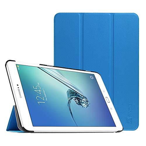 Fintie Hülle für Samsung Galaxy Tab S2 9.7 T810N / T815N / T813N / T819N 24,6 cm (9,7 Zoll) Tablet-PC - Ultra Schlank Ständer Cover Schutzhülle mit Auto Schlaf/Wach Funktion, Königsblau