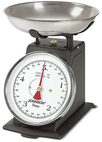bilancia da cucina johnson JOHNSON BILANCIA DA CUCINA PESA ALIMENTI FINO A 5 KG