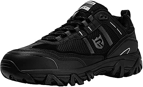 LARNMERN PRO Steel Toe Shoes Men Puncture Proof Slip Resistant Breathable Safety Sneakers Fashion Work Shoe Comfortable Industrial & Construction Shoes