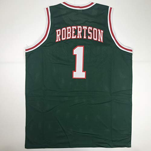 Unsigned Oscar Robertson Milwaukee Green Custom Stitched Basketball Jersey Size Men's XL New No Brands/Logos