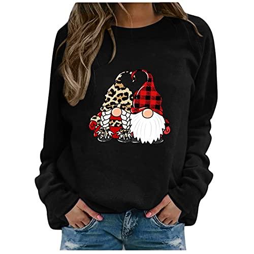 Weihnachten tunika damen kurzarm kleidung aus holzfasern bluse damen elegant sexy oversize pullover baumwolle pulli hoody damen pullover damen v ausschnitt winterkleid damen langarm 3d tshirt damen