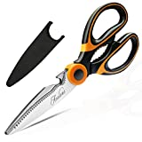 Kitchen Shears, Acelone Premium Heavy Duty Shears Ultra Sharp Stainless Steel Multi-function Kitchen...