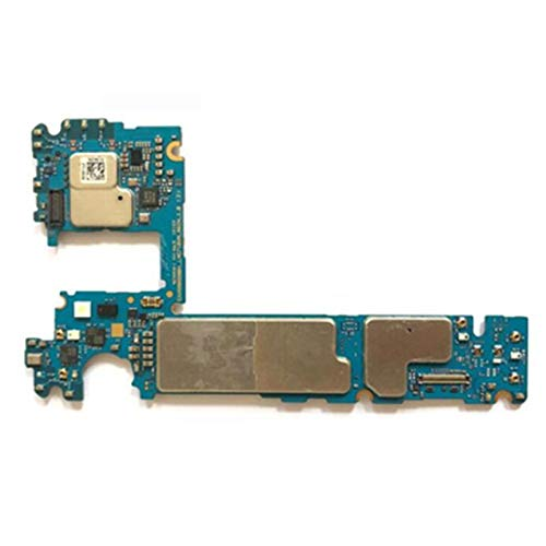 YANGLY Placa base de teléfono móvil para Samsung S6 G925F Mainboard 32 gb original desbloqueado borde G925F placa base 32 gb 64 gb Mainboard reemplazo del teléfono celular (color: G925V)