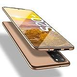 X-level Samsung Galaxy S20 Plus Hülle, [Guardian Serie] Soft Flex TPU Hülle Superdünn Handyhülle Silikon Bumper Cover Schutz Tasche Schale Schutzhülle für Samsung Galaxy S20 Plus 5G - Gold